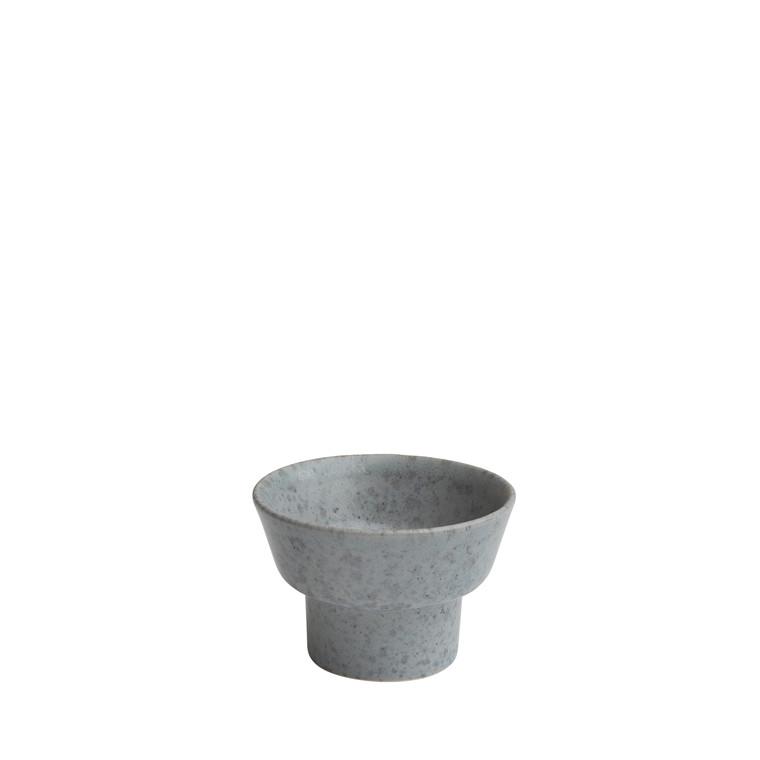 KÄHLER Ombria lysestage 5,5 cm grå