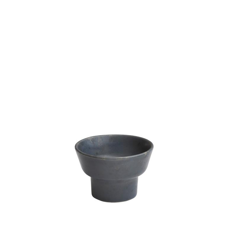 KÄHLER Ombria lysestage 5,5 cm blå