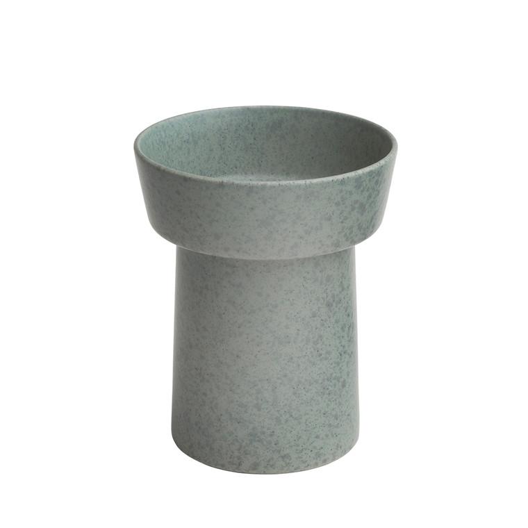 KÄHLER Ombria vase 20 cm granitgrøn