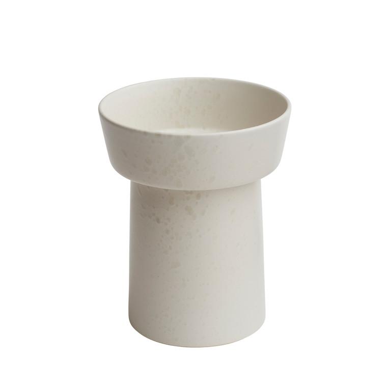 KÄHLER Ombria vase 20 cm marmorhvid