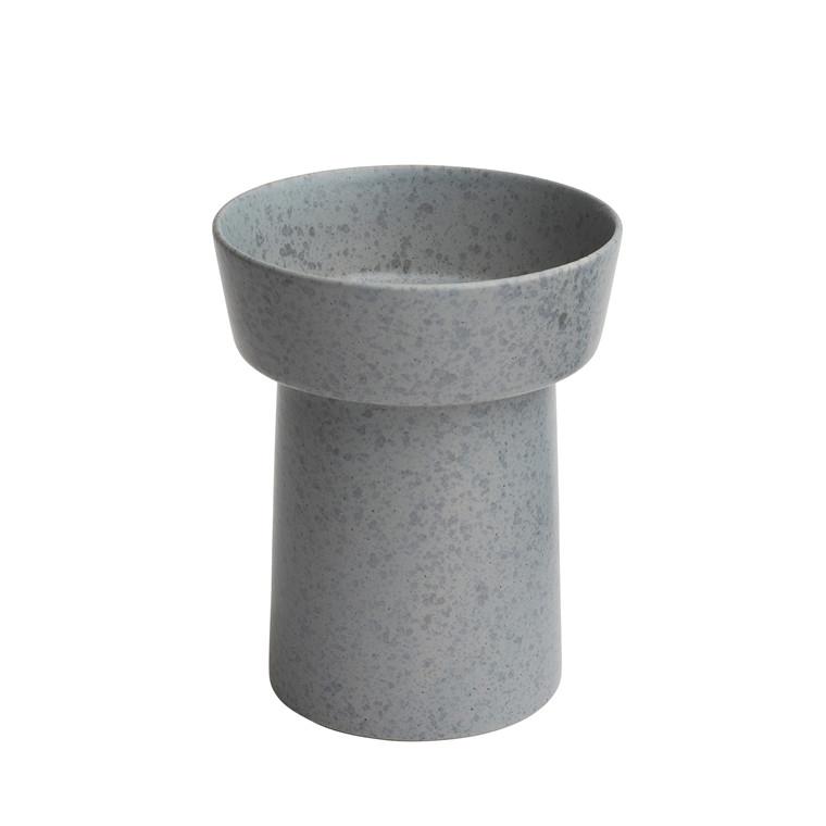 KÄHLER Ombria vase 20 cm skiffergrå