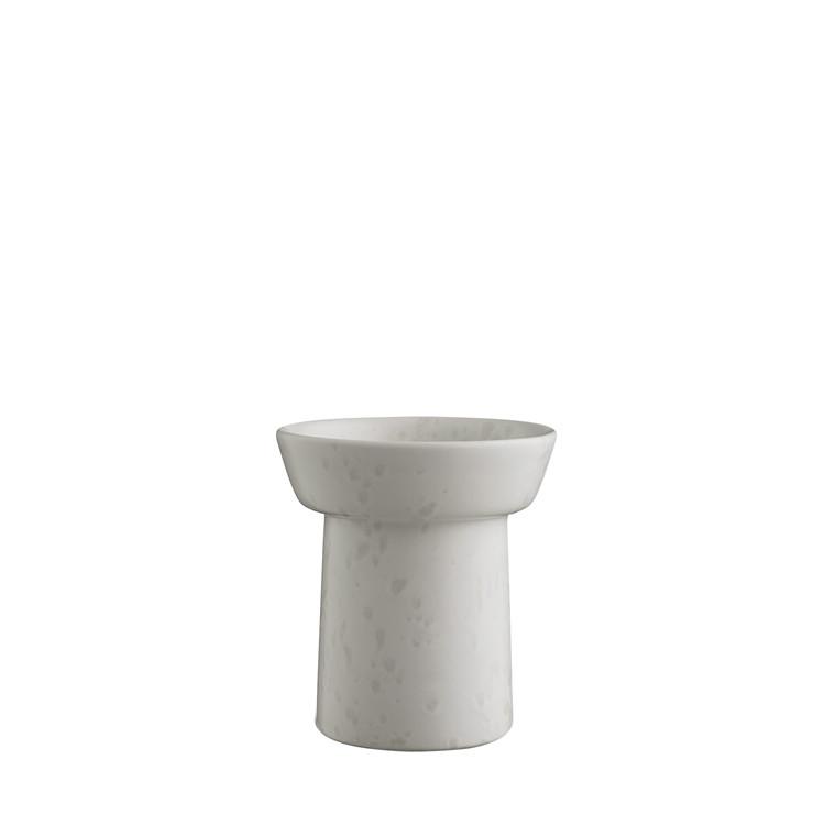 KÄHLER Ombria vase 13 cm marmorhvid