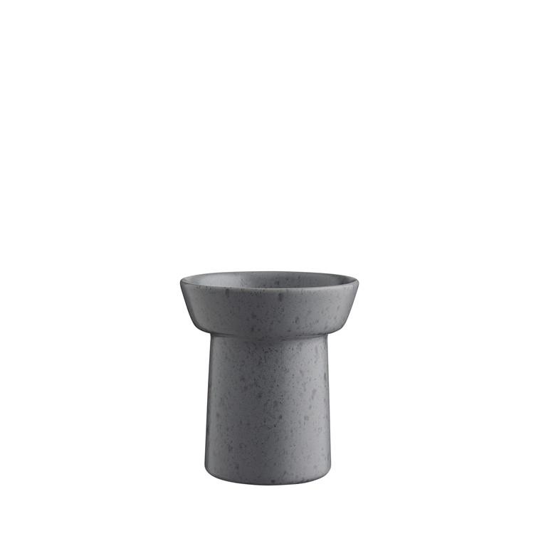 KÄHLER Ombria vase 13 cm skiffergrå