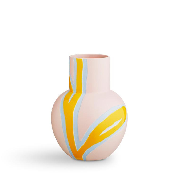 KÄHLER Fiora vase H 25 cm pink