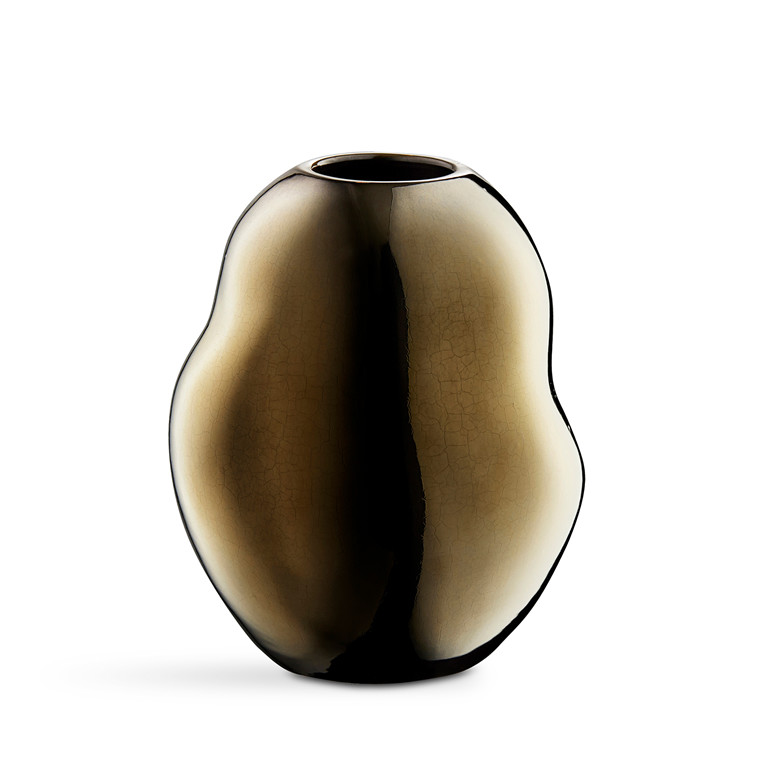 KÄHLER Fiora vase H 20 cm guld