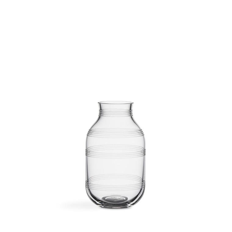 KÄHLER Omaggio vase H140 Ø82mm Klar