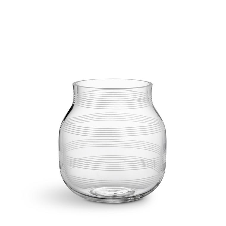 KÄHLER Omaggio vase H 17 cm klar