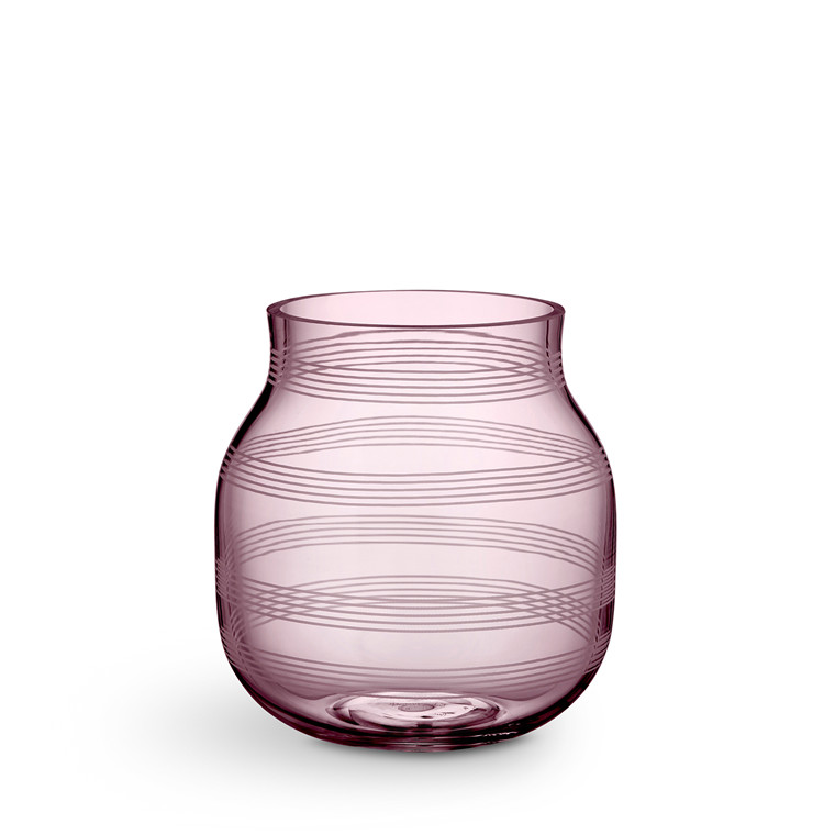KÄHLER Omaggio vase H 17 cm blomme