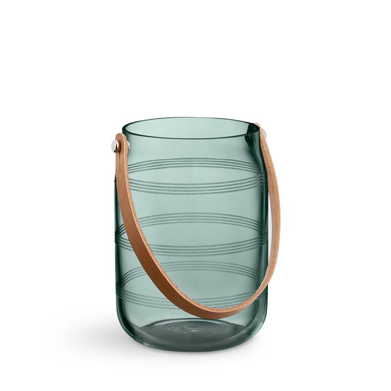 KÄHLER Omaggio lanterne H 16 cm mosgrøn