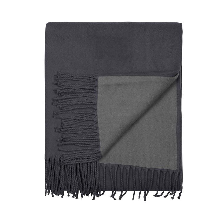 SÖDAHL Plaid 130x170 cm Escape mørk grå