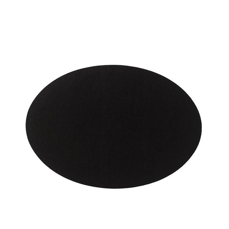 Södahl dækkeserviet oval sort