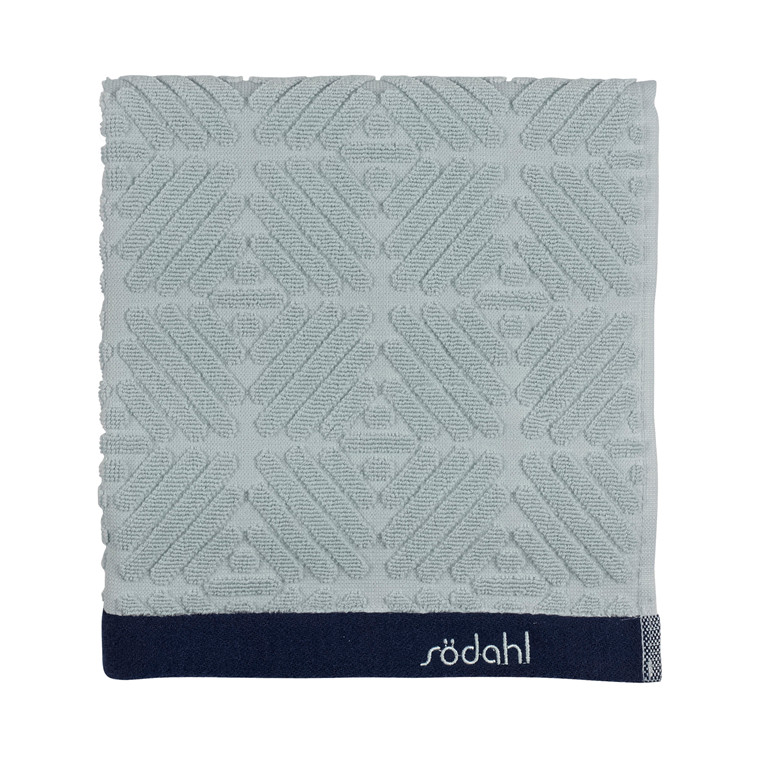 Södahl Spirit  håndklæde 70 x 140 cm ice/indigo