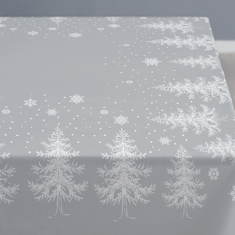 SÖDAHL Winterland damaskdug 150 X 180 grå