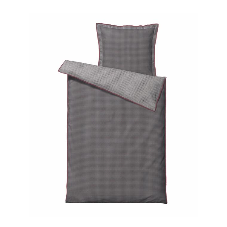 Södahl Spirit  sengelinned 140 x 220 cm grå/blush