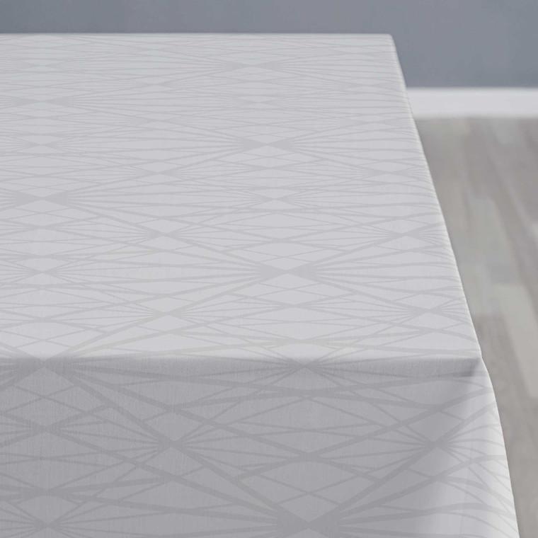 Södahl Diamond Grid dug lys grå Ø160 cm