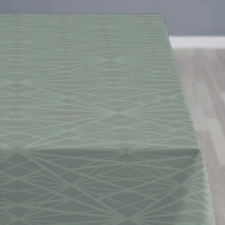 Södahl Diamond Grid dug Ø160 cm leaf green