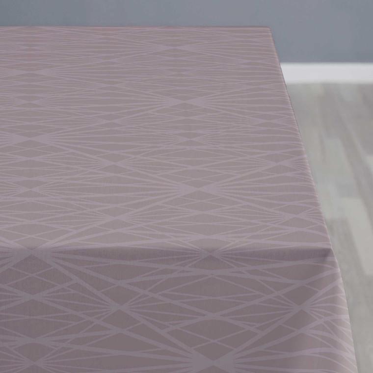 Södahl Diamond Grid dug 140 x 220 cm mauve