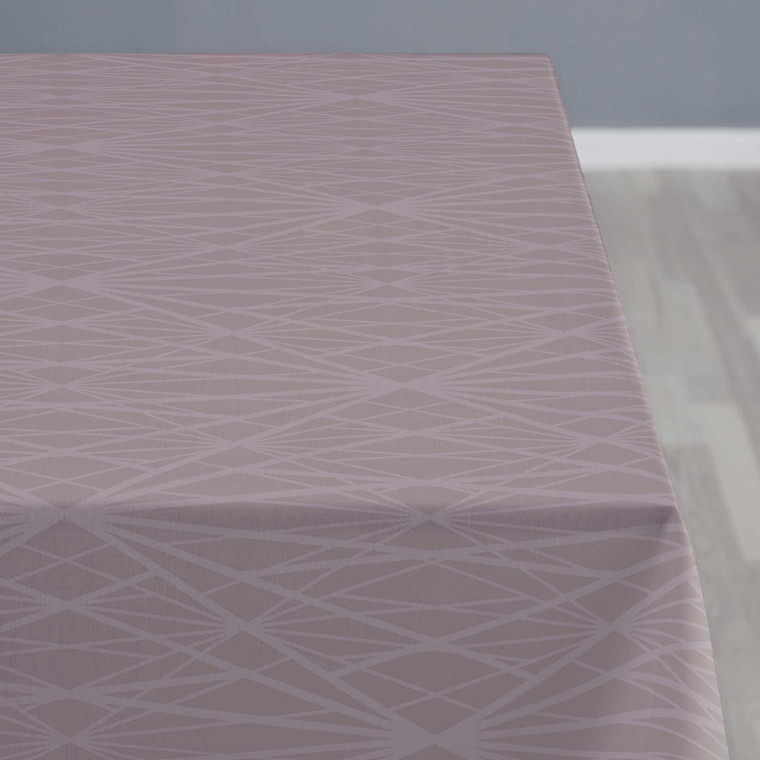 SÖDAHL Diamond Grid dug 140 X 320 cm mauve