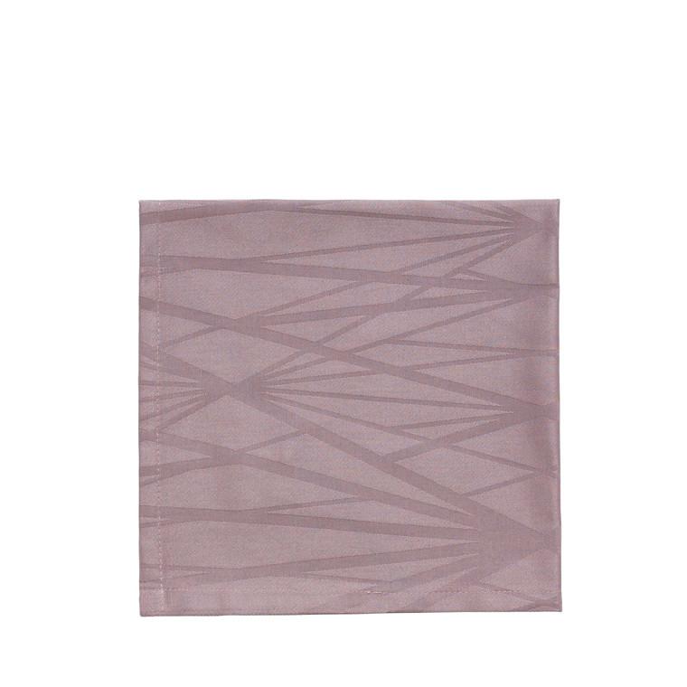 SÖDAHL Diamond Grid mundserviet 45 X 45 cm mauve