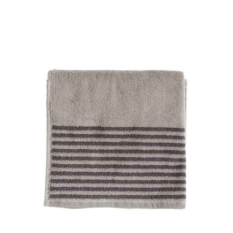 Södahl Mist håndklæde 50 x 100 cm natur/grå