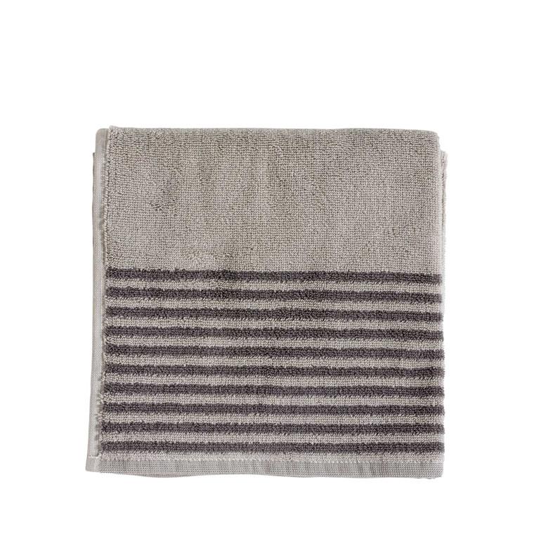 Södahl Mist håndklæde 70 x 140 cm natur/grå
