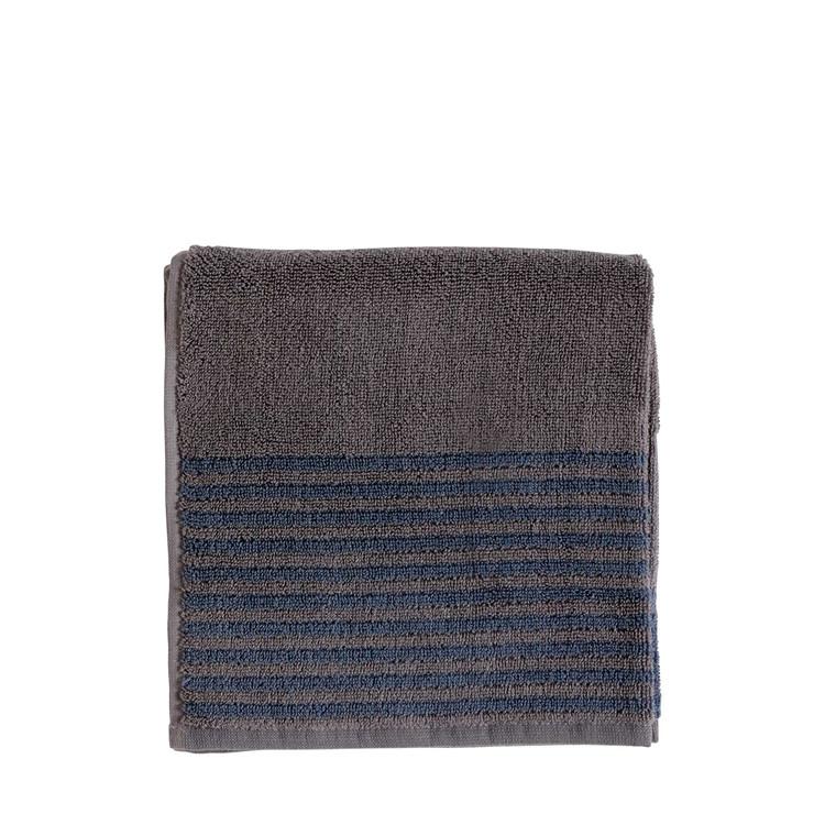Södahl Mist håndklæde 50 x 100 cm grå/china blue