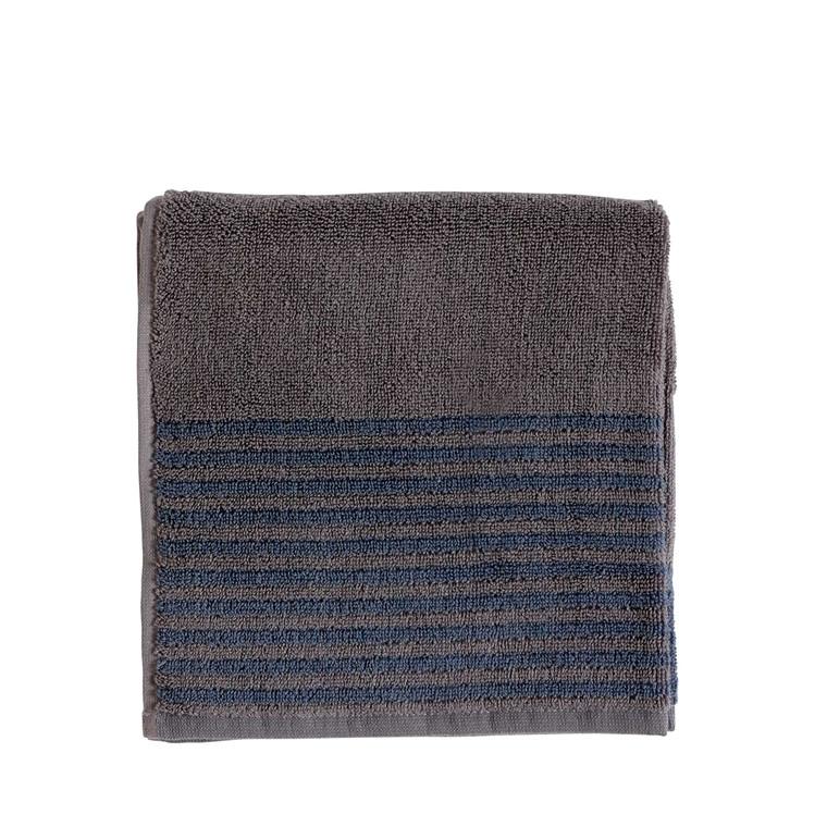 Södahl Mist håndklæde 70 x 140 cm grå/china blue