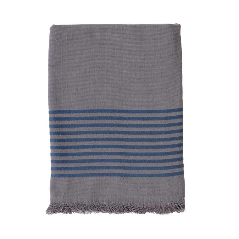 Södahl Mist Beach håndklæde 86 x 160 cm grå