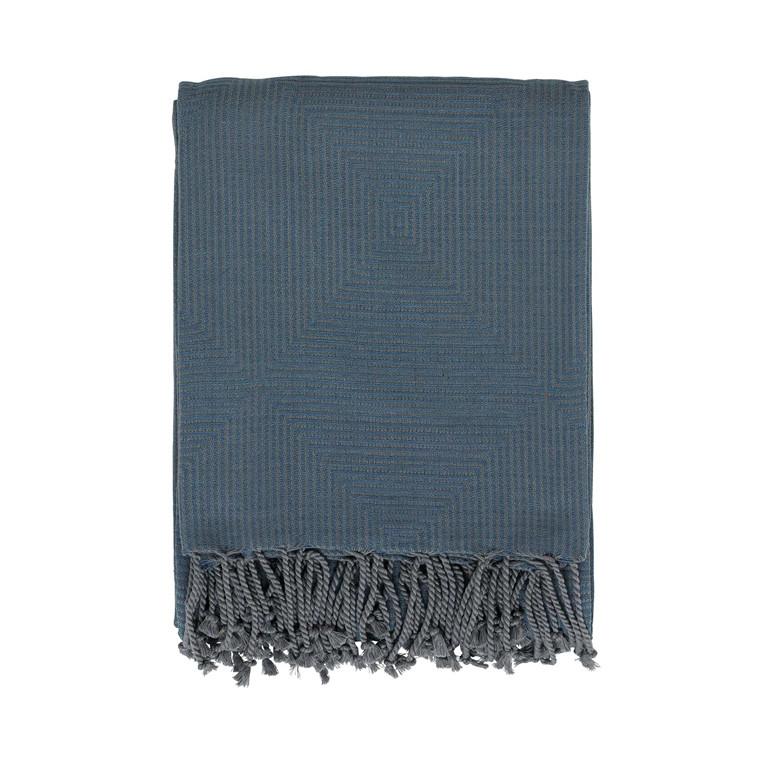Södahl Balance plaid 130 x 170 cm china blue