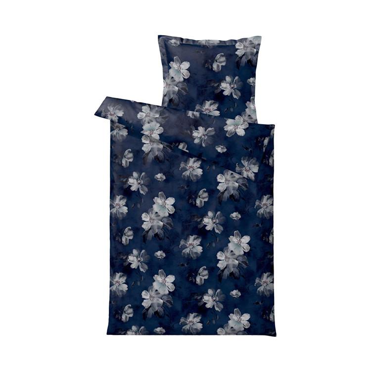 SÖDAHL Vintage Bloom sengelinned 140 X 220 cm blå