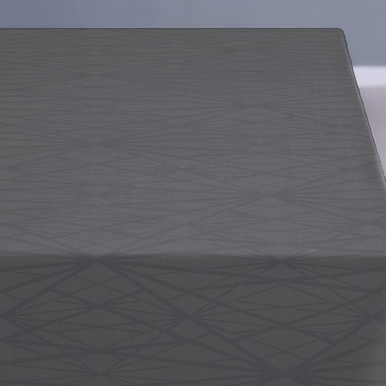 SÖDAHL Diamond Grid dug 140 X 180 grå