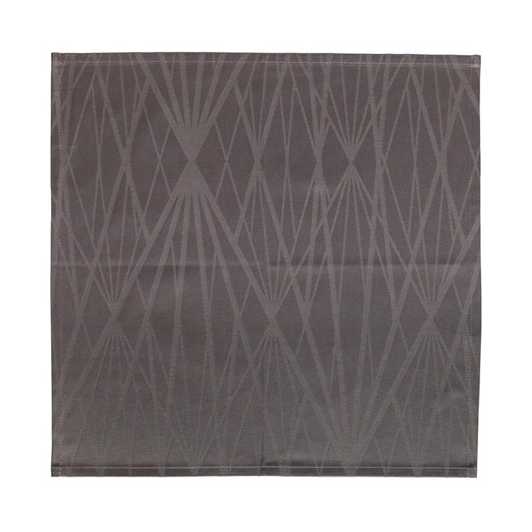 SÖDAHL Diamond Grid mundserviet grå