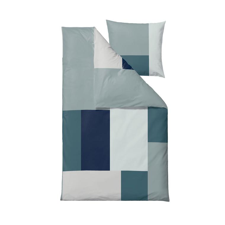 SÖDAHL Block Party sengelinned 140 X 220 cm grøn