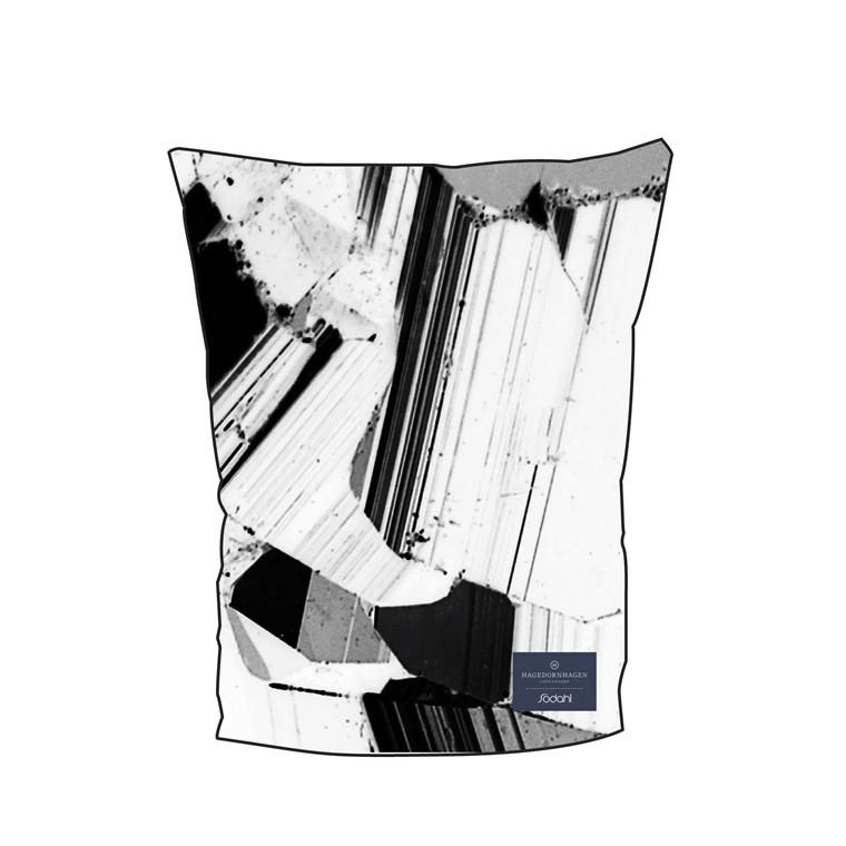 SÖDAHL Pyrite kaffehætte sort/hvid print