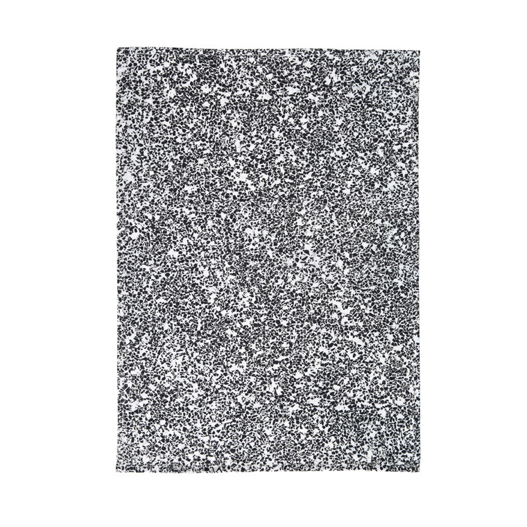SÖDAHL Terezzo viskestykke sort/hvid print
