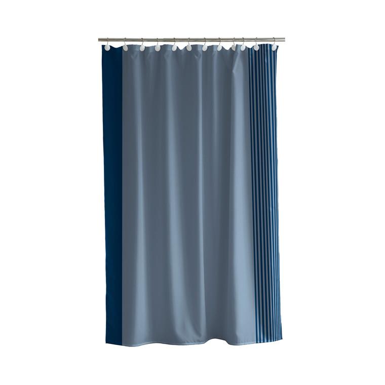 SÖDAHL Mist badeforhæng 180 X 200 cm indigo/china blue