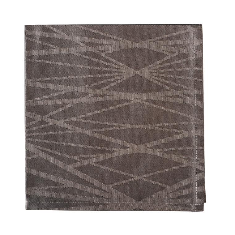 SÖDAHL Diamond Grid mundservietter 4 pak grå