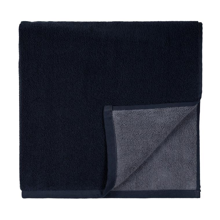 SÖDAHL Håndklæde 50x100 fragment mørk blå/lys blå