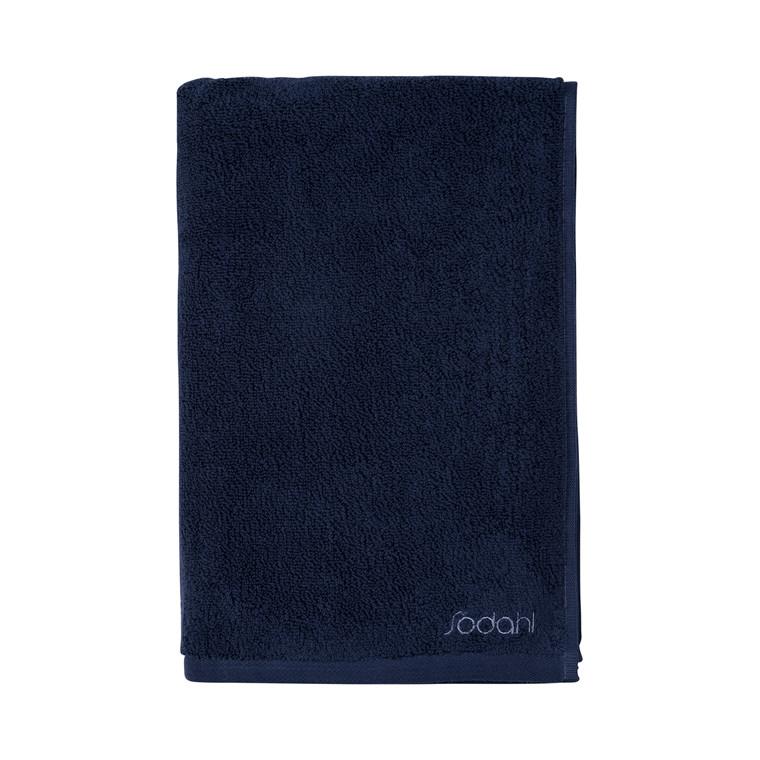 SÖDAHL Håndklæde 70x140 fragment mørk blå/lys blå