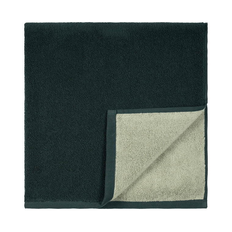 SÖDAHL Håndklæde 50x100 fragment mørk grøn/lys grøn