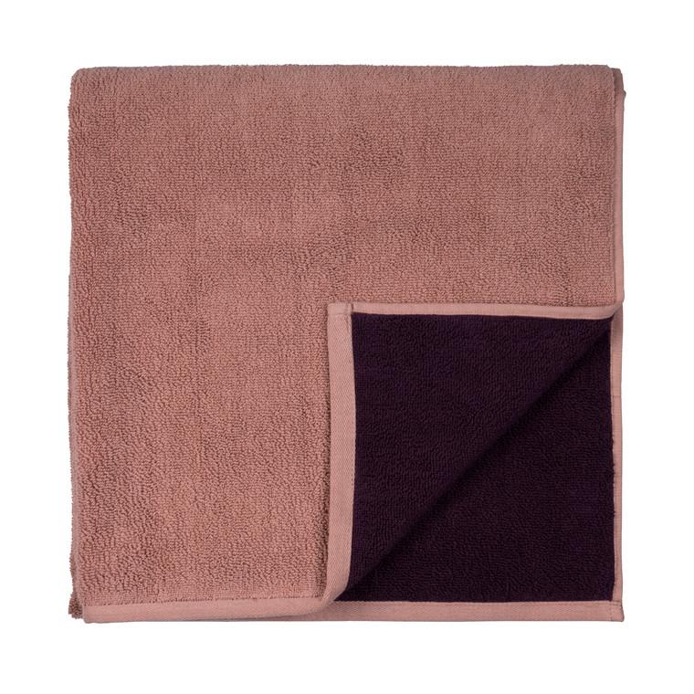 SÔDAHL Håndklæde 50x100 fragment Mørk blomme/lys blomme