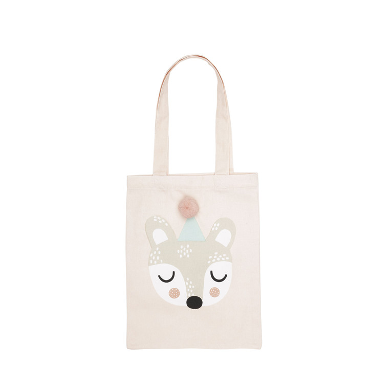 SÖDAHL Tote bag 25 X 32 Bibi bear paste