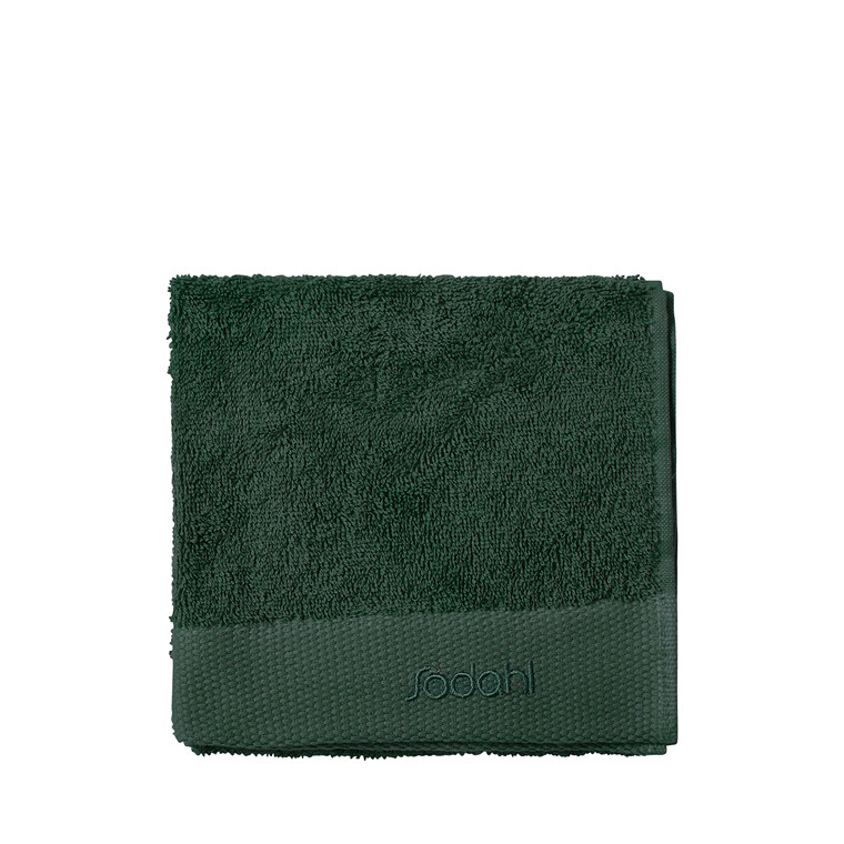 SÖDAHL Comfort håndklæde 40x60 cm mørk grøn