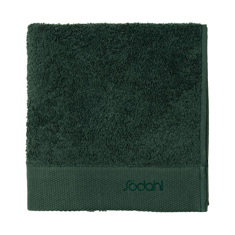 SÖDAHL Håndklæde 50x100 Comfort mørk grøn