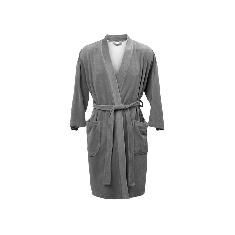 SÖDAHL Soft badekåbe, grå S/M