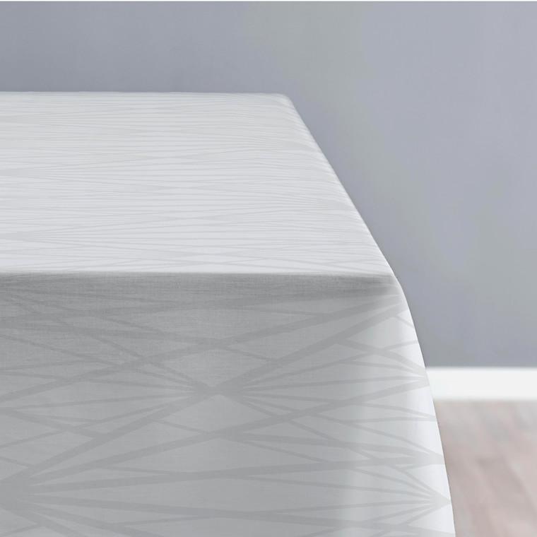 SÖDAHL Diamond Grid dug 140 X 320 cm lys grå