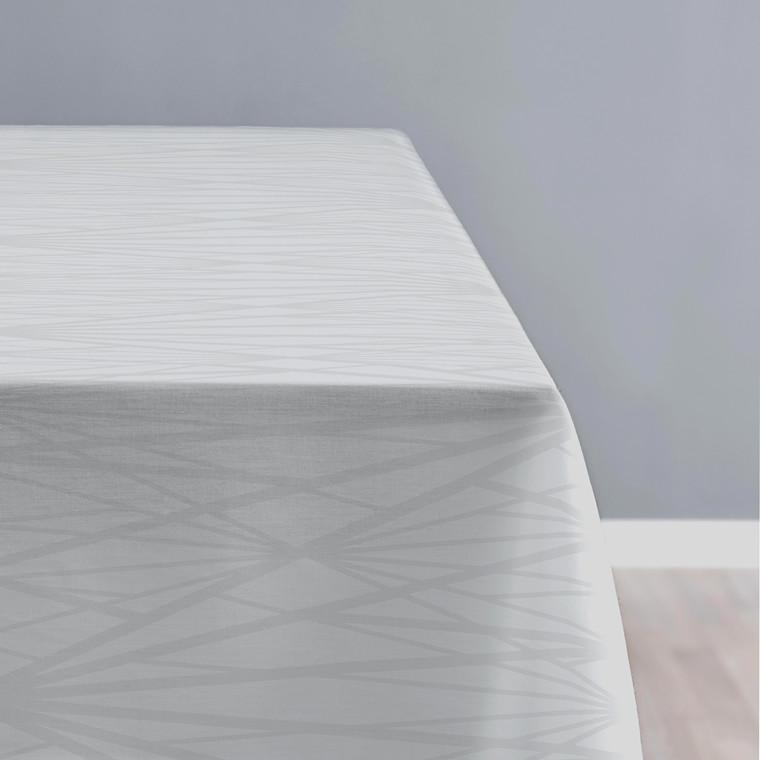 Södahl Diamond Grid dug 140 X 370 cm grå