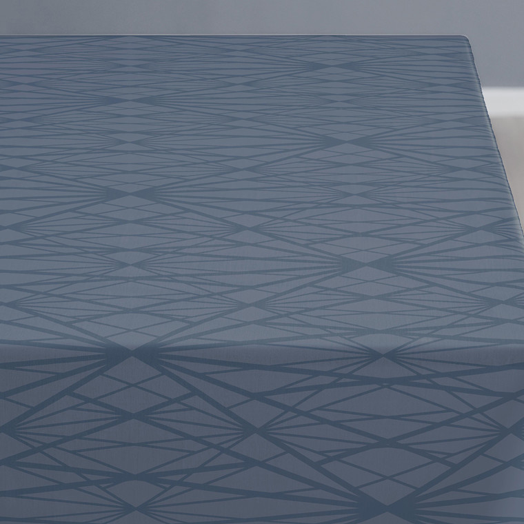 Södahl Diamond Grid dug 140 X 180 cm china blue