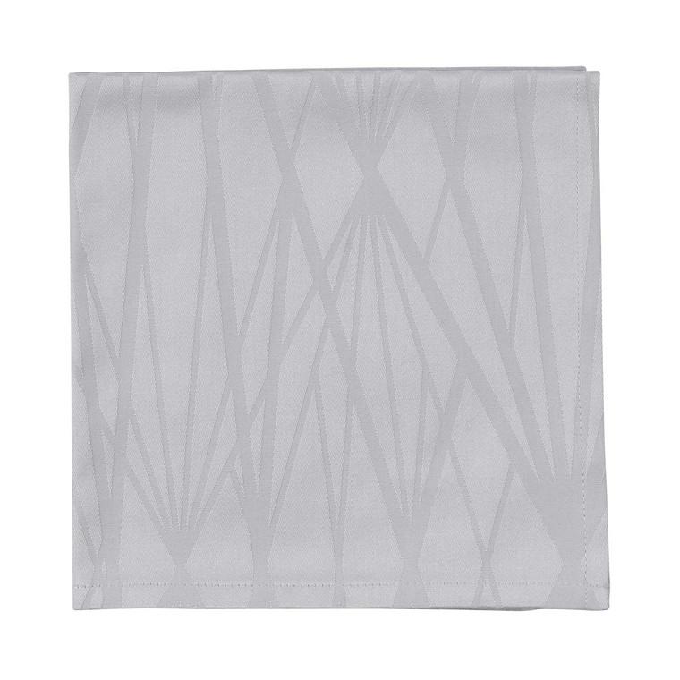SÖDAHL Diamond Grid mundserviet lys grå