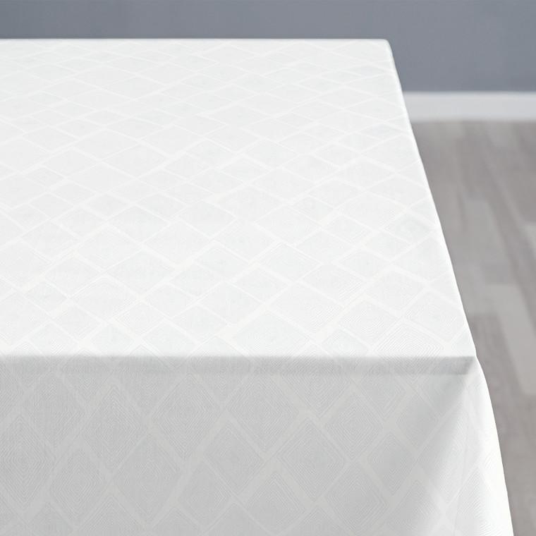 Södahl Labyrinth dug 140 x 270 cm optisk hvid